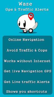 Download New Waze 2018 GPS Navigation & Maps Tips For PC Windows and Mac apk screenshot 4