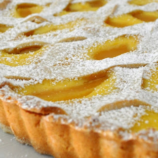 Pears and Ricotta Tart.