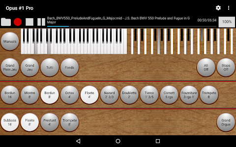 Opus #1 Pro - The Midi Organ screenshot 7