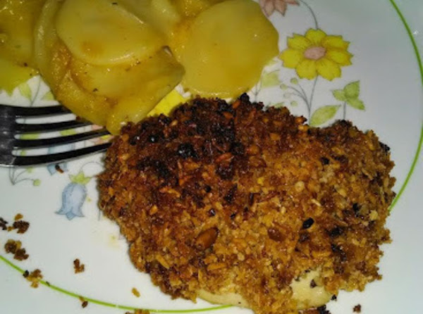 Pine Nut And Parmesan-crusted Chicken Recipe