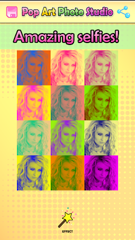 android Pop Art Studio de Photographie Screenshot 4