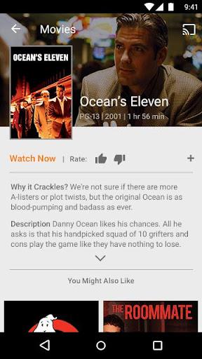 Sonyu00a0Crackleu00a0u2013u00a0Free TV & Movies 6.0.0 screenshots 4