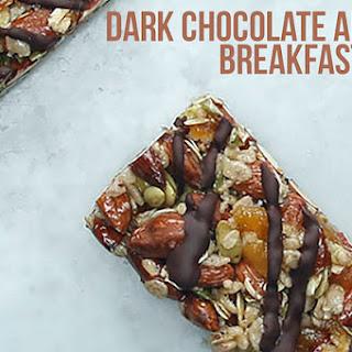 1. Dark Chocolate Apricot Breakfast Bars