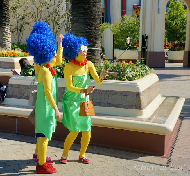 cosplay Simpsons