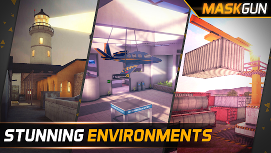 MaskGun ® – Multiplayer FPS 2.172 MOD (Unlimited Ammo) 3
