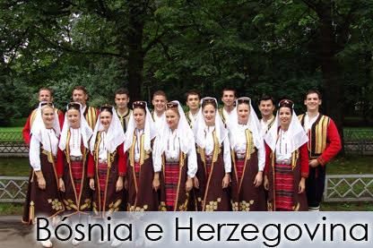 "BÓSNIA E HERZEGOVINA - Folk Dance Ensemble ""VESELIN MASLESA"""