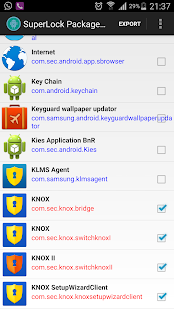 Package Disabler Pro (All Android) Screenshot
