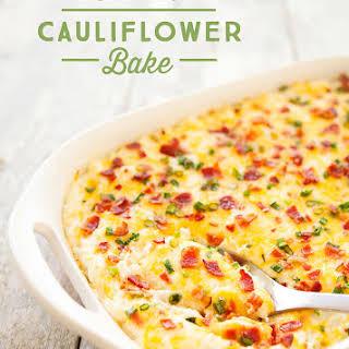Cheesy Cauliflower Bake.