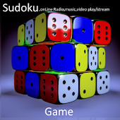 Sudoku, online Radio,music,video play,stream