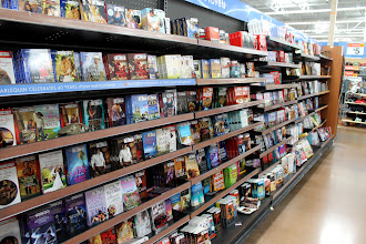 Photo: The first place we headed was the book department. These were not the books I was looking for...