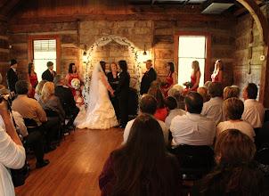 Photo: Wedding CeremonyTablerock Lodge Table Rock Park Pickens, SC - http://WeddingWoman.net