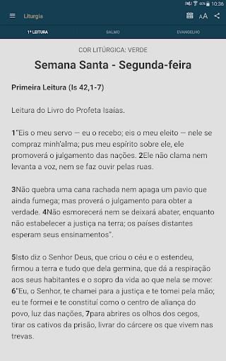 Liturgia Diária - Canção Nova 3.0.2 screenshots 14