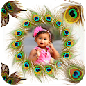 Peacock Feather Photo Frames icon