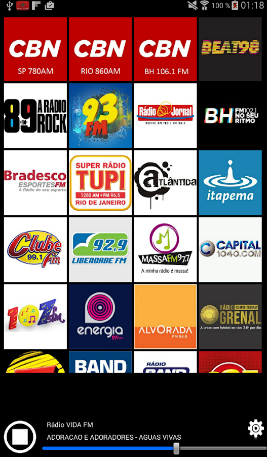 Radios Brazil- screenshot