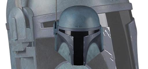Star Wars The Mandalorian – Death Watch Black Series Helmet GameStopExclusive