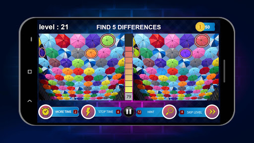 Spot 5 Differences 1000 levels screenshots 6