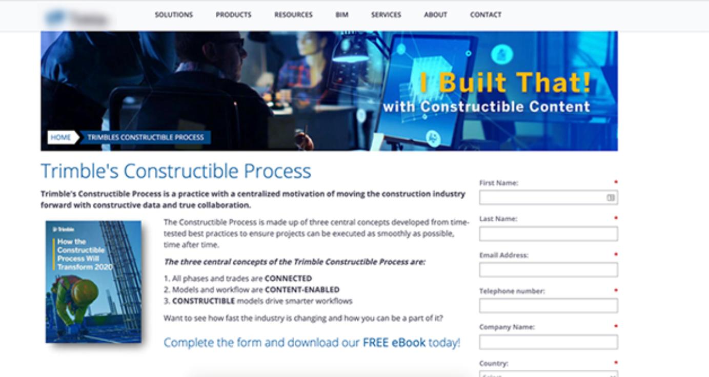 abm ebook landing page