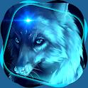 Wolf Live Wallpaper HD icon