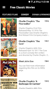Free Classic Movies – Watch movies online free App Download For Android 2