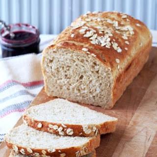Leftover Oatmeal Bread.