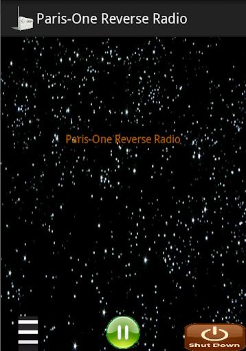 Paris-One Reverse Radio