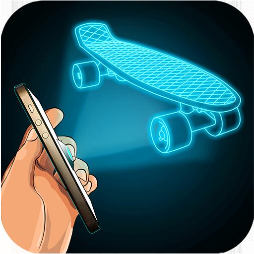 模拟のホログラム指シミュレータ LOGO-記事Game