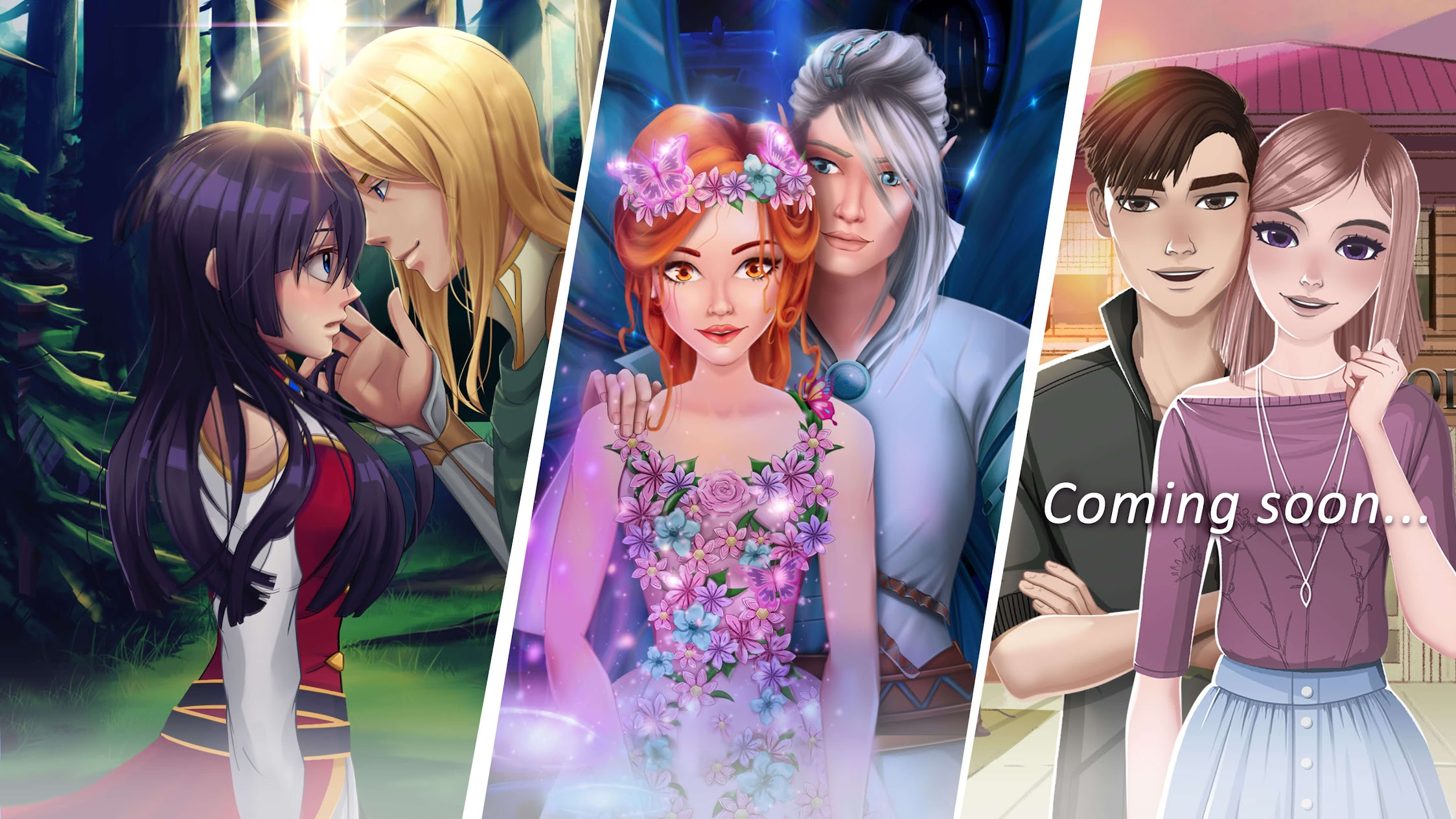Webelinx Love Story Games