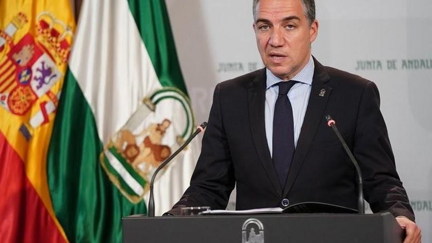 Elías Bendodo, consejero de la Presidencia.