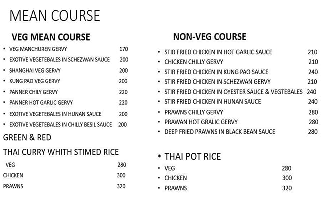 Choosy menu 3