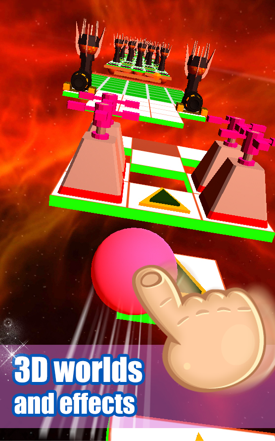 Rolling Ball Sky 3D Android 3