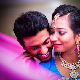 by Kalpajit Paul - Wedding Bride & Groom