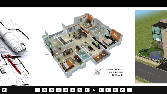 3D Model Home screenshot