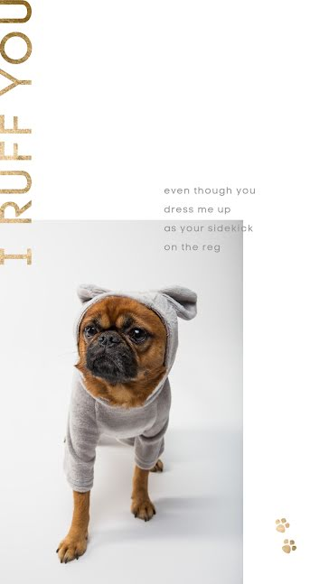 I Ruff You 3 - Father's Day template
