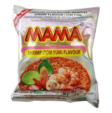 Mama Shrimp Tom Yum 90g (stor)