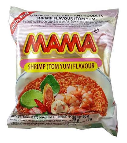 Mama Shrimp Tom Yum 90g (stor)