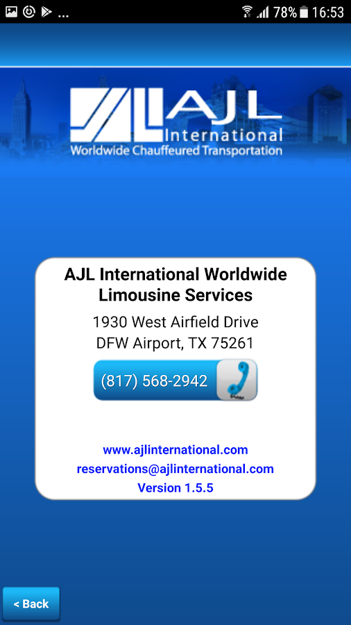 AJL International- screenshot