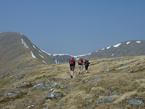 Photo: Approaching Mam Sodhail, 1181 m - the first Munro of the weekend