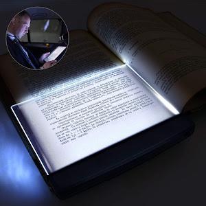 Lampa tip panou luminos LED, pentru cititul cartilor