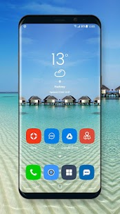 Theme for Oppo A71 launcher | live wallpaper - náhled