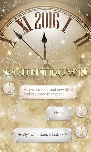 FREE GO SMS COUNTDOWN THEME