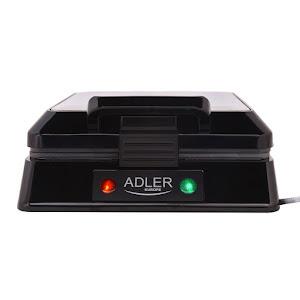Aparat de preparat waffle / vafe ADLER AD 3036, 1500 W, inox