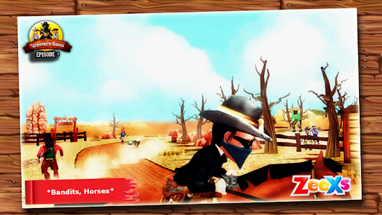 Western Guns 01: Wild Cowboys- screenshot thumbnail