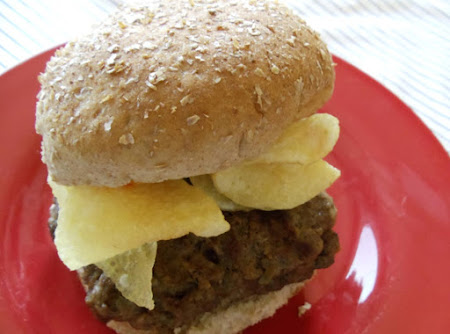 Buffalo Cheeseburger, Crunchified Recipe