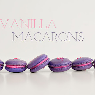 Vanilla Macarons Recipe