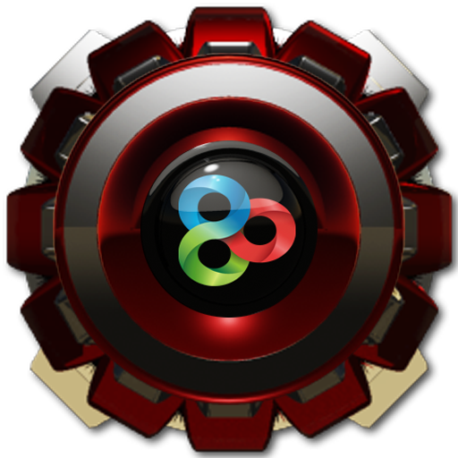 R Magnet GO Launcher Theme