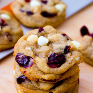 Soft-Baked White Chocolate Cranberry Cookies