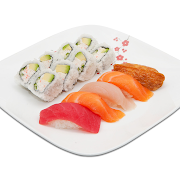 Sushi & Roll Lunch Combo