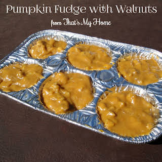 Pumpkin Fudge.