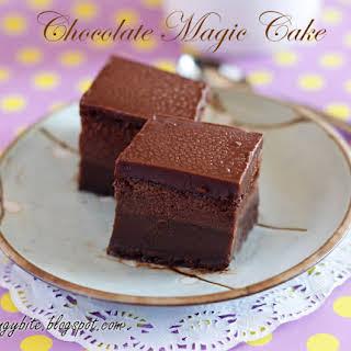 Chocolate Magic Cake 巧克力魔术蛋糕.