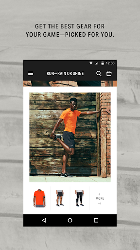 Under Armour - Athletic Shoes, Running Gear & More Apk 1